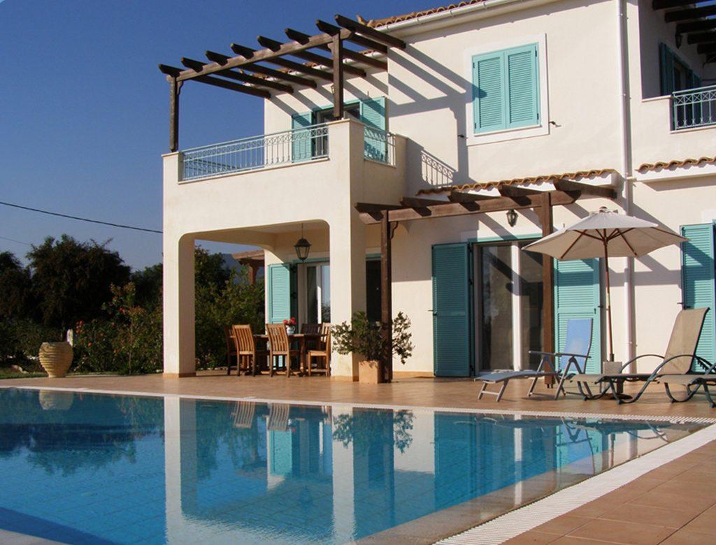 Private pool Kefalonia Seven Islands Villa