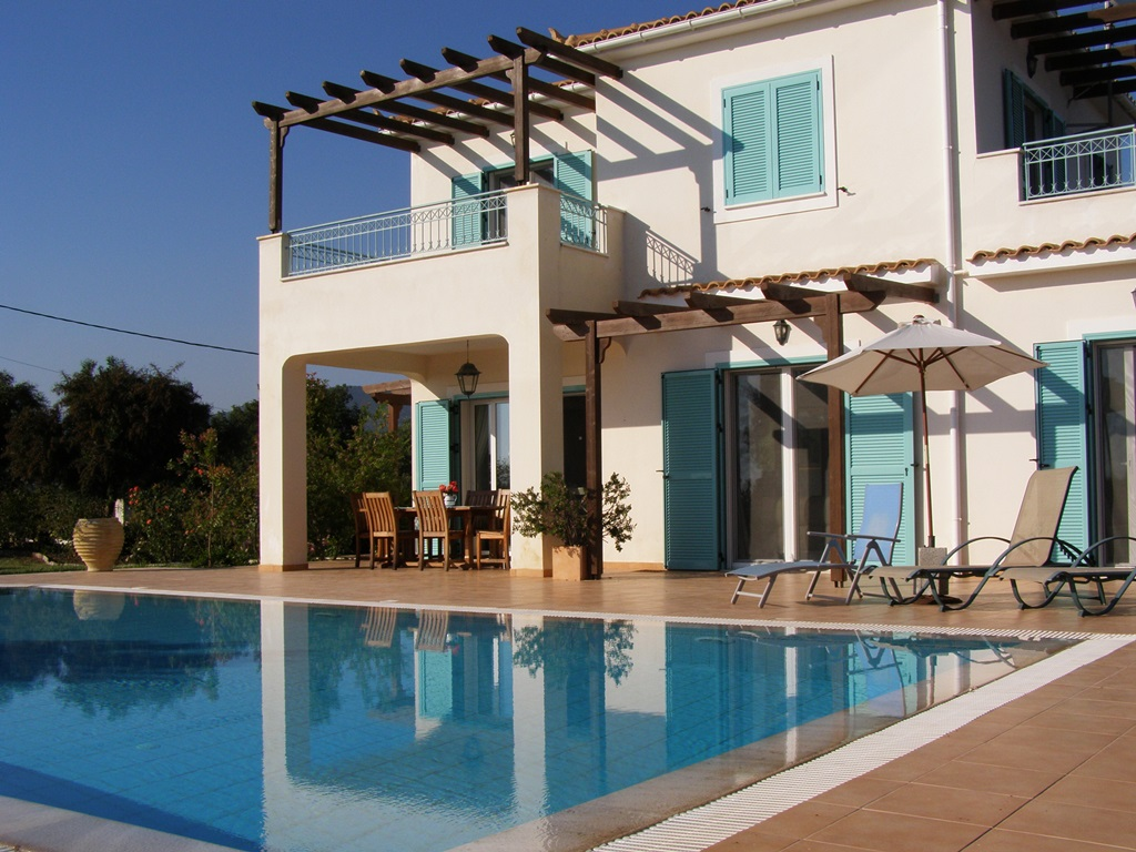Kefalonia Seven Islands Villa front view