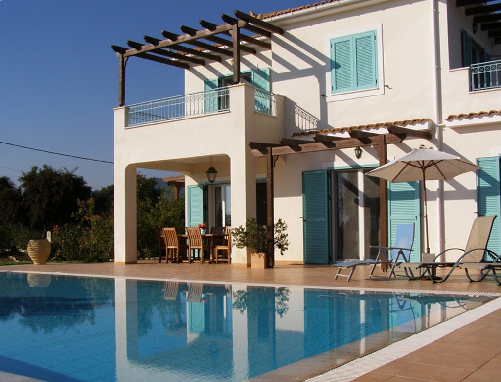 Private pool Kefalonia Seven Islands Villa